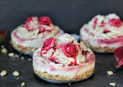 Beet Root Cream Cheesecake