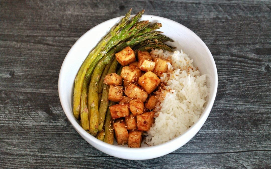 Sheet Pan Teriyaki Tofu