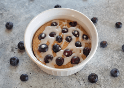 Blueberry Lemon Baked Oats