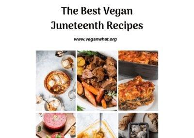 Juneteenth History and Vegan Recipes
