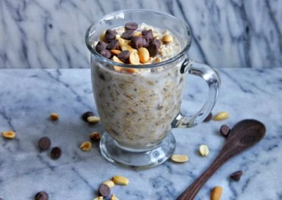 Snickers Overnight Oats