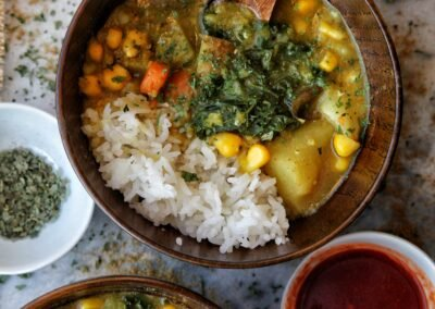Red Lentil Curry Soup